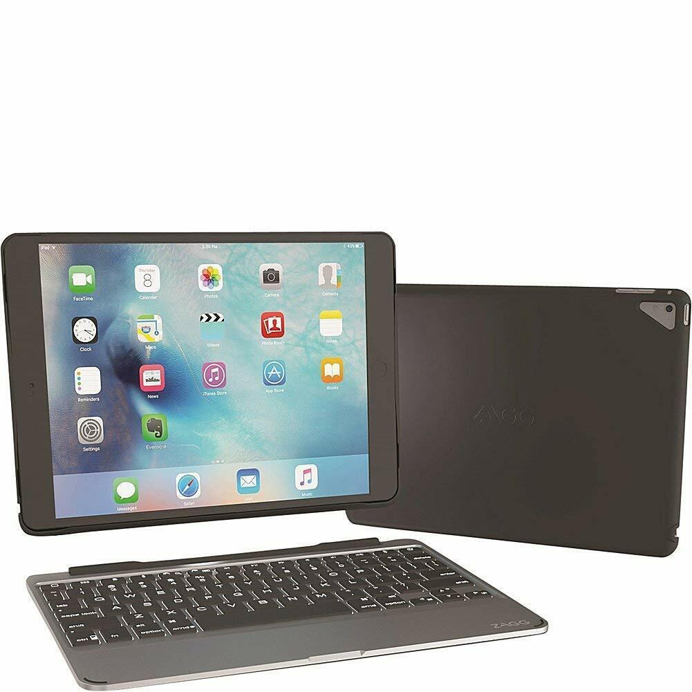 "Zagg Slim Book iPad Pro 9.7"" Backlit Wireless Keyboard Folio"
