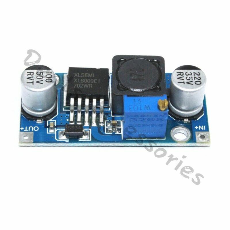 DC-DC XL6009E1 Adjustable Step-up Power Boost Voltage Converter Module 3V~32V