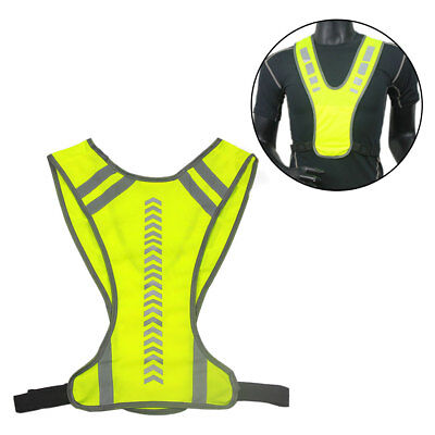 Reflective Vest Safety Jacket for Running Jogging Cycling Motorcycle New Trendy