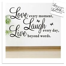 NEW DIY Wall Sticker Home Decor Love Removable Quote Decal Wembley Cambridge Area Preview