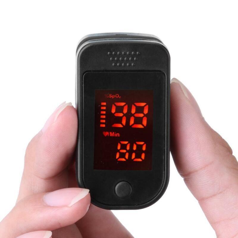 FDA Fingertip Finger Pulse oximeter/oxymetre SpO2 PR Blood Oxygen meter monitor
