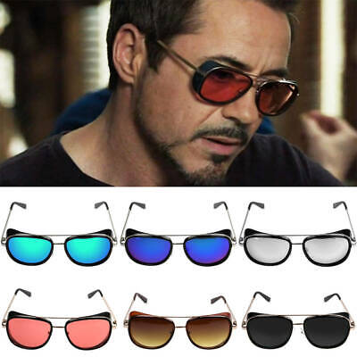 Iron Man TONY STARK Sunglasses Color Lens Robert Downey Personalized - Sunglasses Personalized