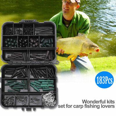 Anglers Carp Fishing Black Mini Bit Tackle Box Ideal for Hooks Swivels Beads