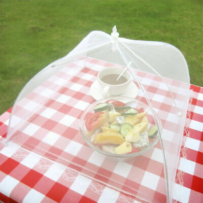 Picnic Food Covers (Pop-up Food Umbrella Cover Picnic Barbecue Party Fly Mosquito Tent Mesh Net)