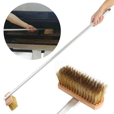 37inch Pizzabbq Oven Brush With Wooden Handle Baking Cooking Cleaning Utensils
