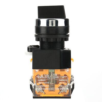Selector momentáneo Interruptor giratorio de 22 mm para enchufes eléctricos