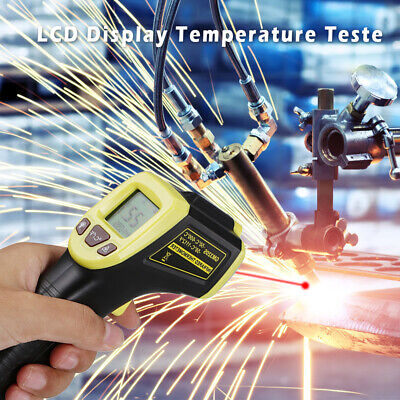 Temperature Temp Meter Gun Non-contact Digital Infrared Ir Laser Thermometer