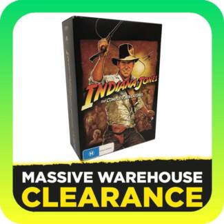 Indiana Jones: The Complete Adventure Collection 1-4 (DVD) Tullamarine Hume Area Preview