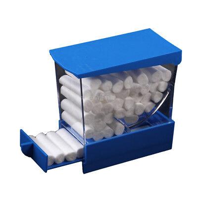 Easyinsmile Dental Cotton Roll Dispenser Holder Press Type Autoclave See-through