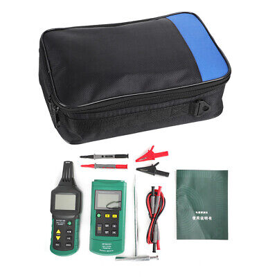 Ms6818 Acdc 400v Wire Cable Locator Metal Pipe Detector Tester Line Tracker