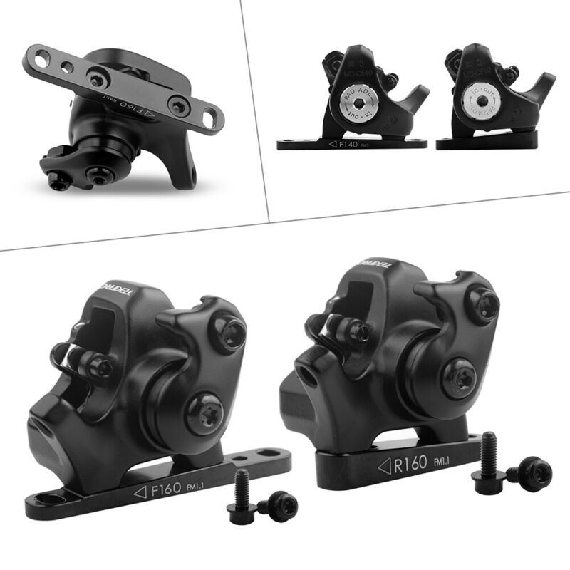 1x MDC510 Single-Piston Cable Actuated Mechanical Flat Mount Disc Caliper Black