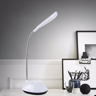 Adjustable Mini Desk Lamp - Mini LED Desk Table Reading Lamp Light Eye-Protection Battery Powered Fine