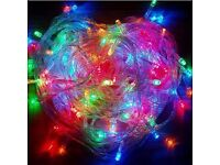 Brand New Multicolor 200 LED 22m String Fairy Lights Wedding Party Xmas Christmas Garden 8 Modes