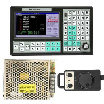 7 Lcd Display Offline Motion Controller Cnc 5-axis 500khz Motion Controller