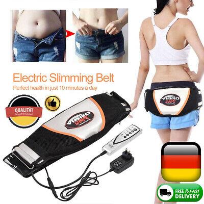 Vibration Anti-Cellulite Massage Bauchgürtel Fettverbrennung Bauchweggürtel DE