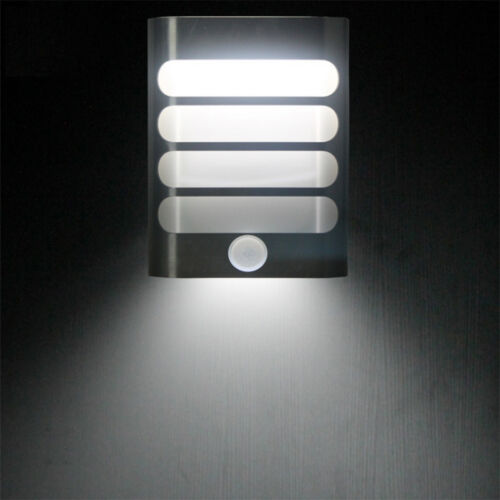 Activated Led Wall Sconce Battery Operated Wireless Night Light Ebay Wall Lights Led Bathroom
