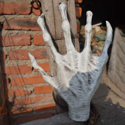 1 Pair Horror Witch Hand Skeleton Bar Halloween Party Tricky Props Ornament Swee