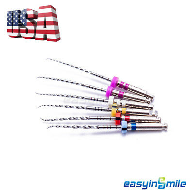 6file Dental X-corn Rotary Niti File For Root Canal 2125mm Assorted Easyinsmile