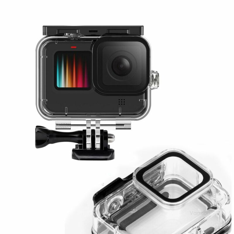 Diving Protective Waterproof  Housing Case Cover For GoPro Hero 9 8 5 6 7 Black