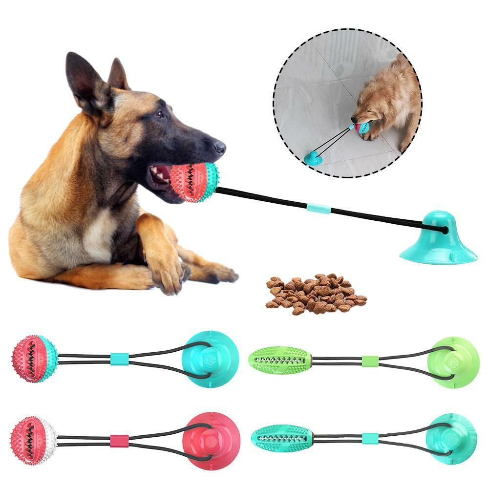 pet molar bite toy dog rope ball