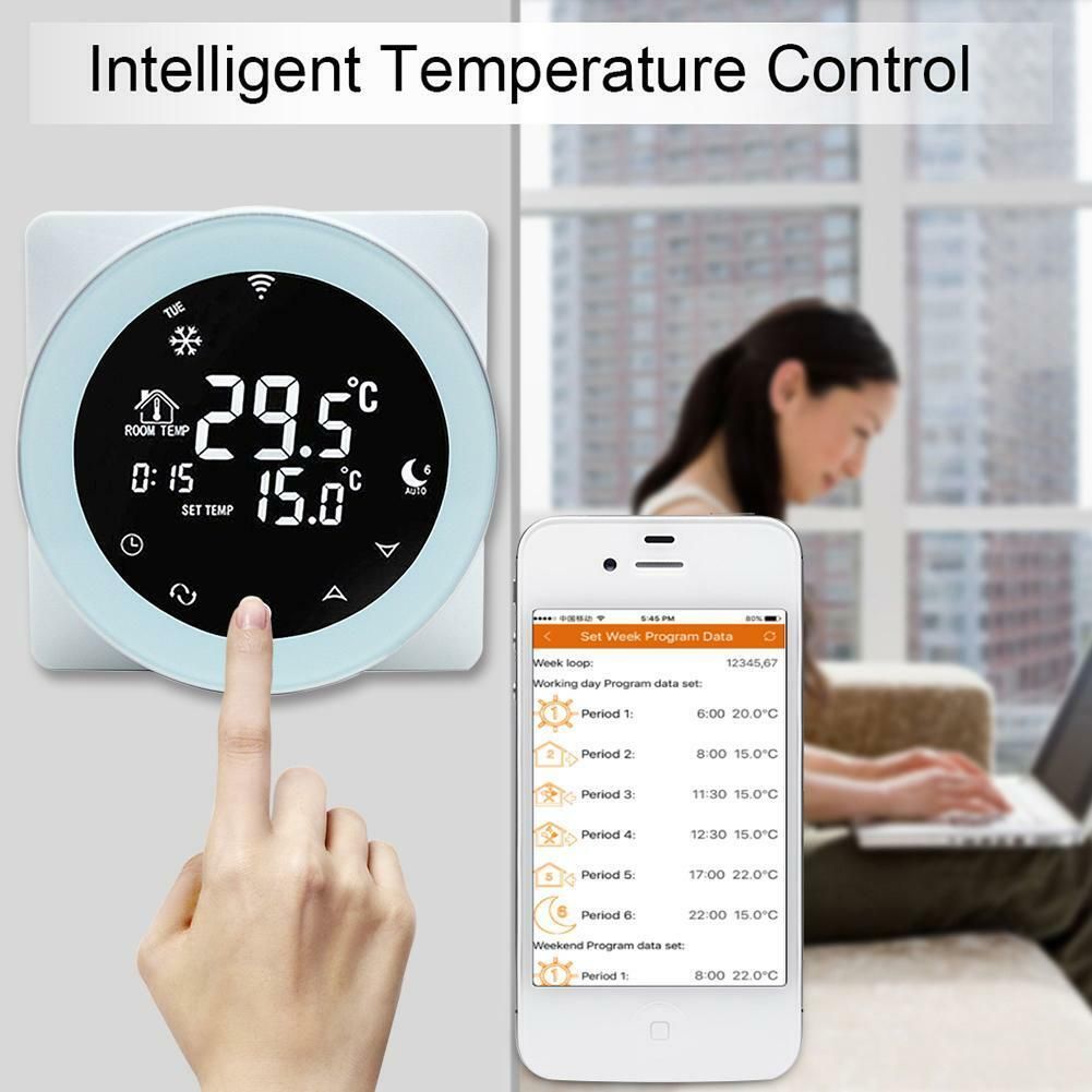 smart wifi temperature controller programmable thermostat