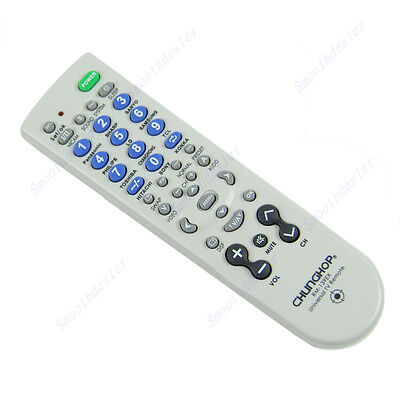 New CHUNGHOP Universal TV Remote Controller RM-139EX For TV DVD