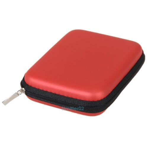 """Portable 2.5"""" Mobile HDD Hard Disk Drive Carry Case Cover Protection Zipper Bag"""