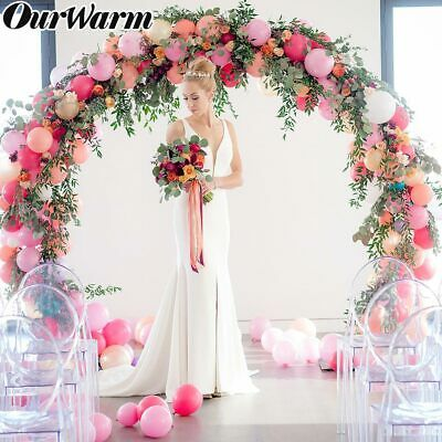 DIY Balloon Arch Kit Balloons Column Stand with Pole Ballons Clips Wedding Decor](Wedding Decoration Kits)