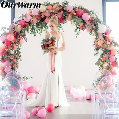 DIY Balloon Arch Kit Balloons Column Stand with Pole Ballons Clips Wedding Decor - Wedding Decoration Kits