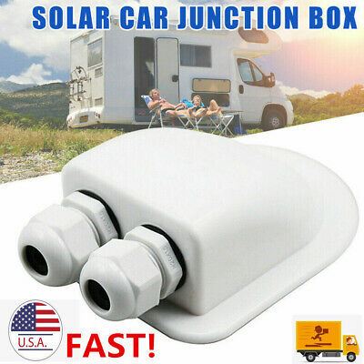 Roof Wire Entry Gland Box Solar Panel Cable Motorhome Caravan Boat