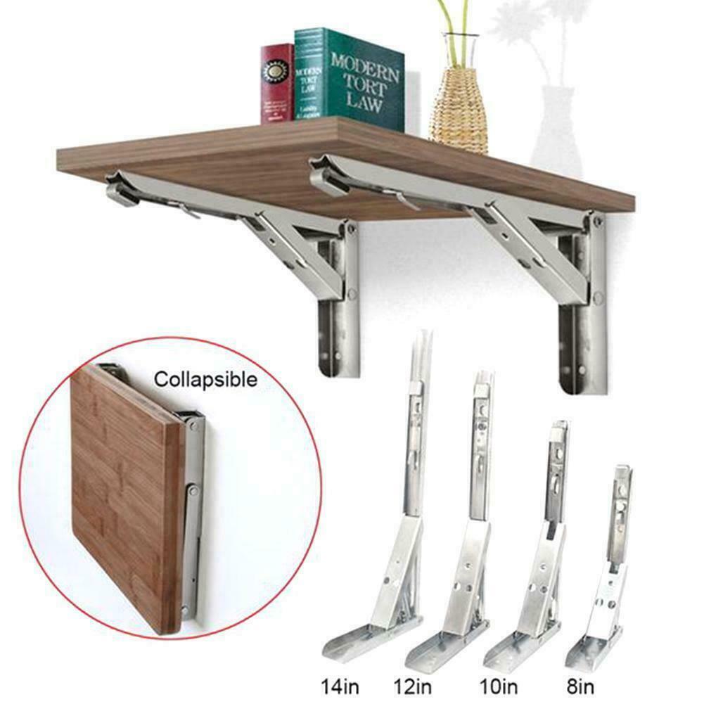 hardware folding shelf bracket k shape durable