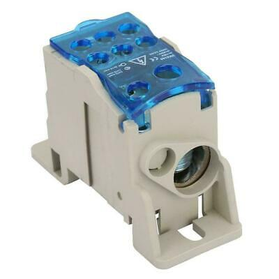Power Junction Box Distribution Terminal Block Connector Din Rail 6-250 Awg 160a