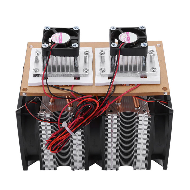 Semiconductor Refrigeration Thermoelectric Peltier Cooler Water CoolingDevice