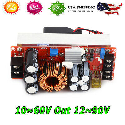Dc-dc 1500w 30a Boost Converter Step Up Power Supply Module Constant Current Usa