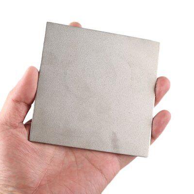 1pc 100x100x2mm Titanium Ti Gr.2 Gr2 Grade 2 Astm B265 Plate Sheet Tool