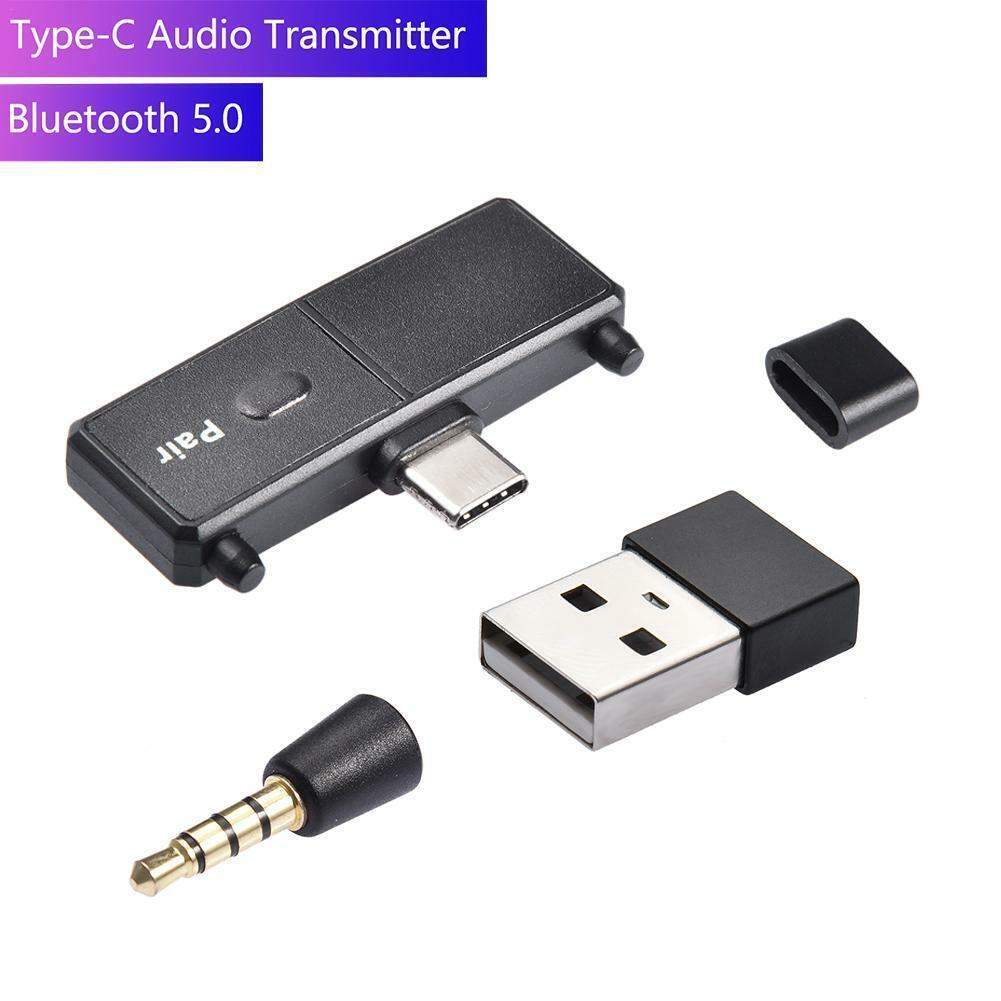For Nintendo Switch/PC USB Type-C Wireless Bluetooth Audio T