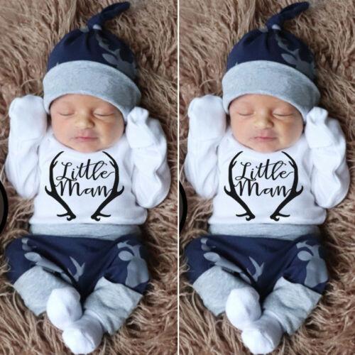 us newborn baby boy clothes little man