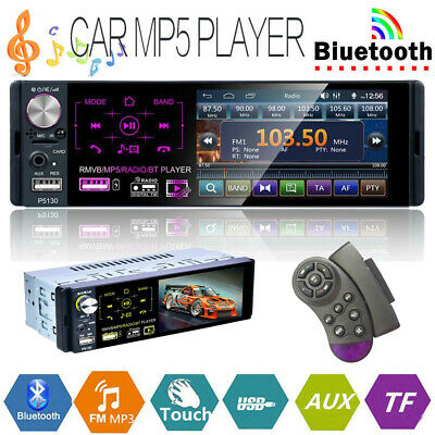 1DIN Car Radio HD Autoradio mit Fernbedienung MP5 Player Bluetooth FM AUX USB/TF