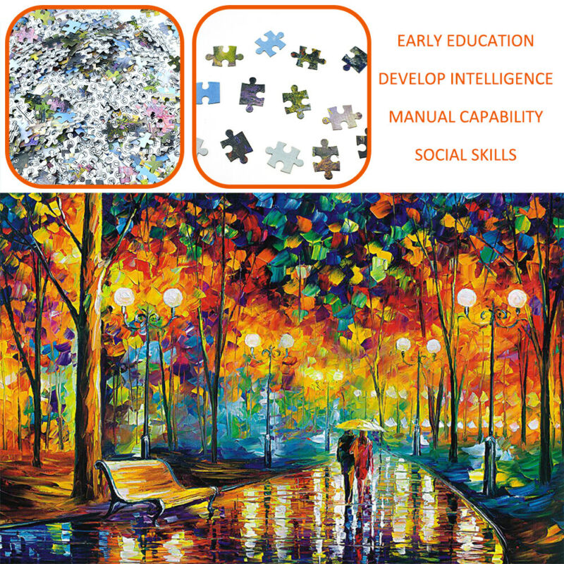 Puzzle Adult 1000 Pieces Jigsaw Paper Decompression Game Home Toy Kids Gift