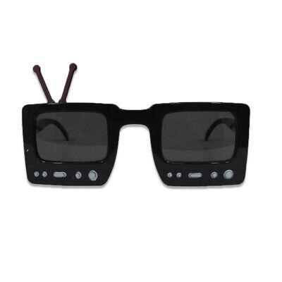 Tv Party Halloween (TV Sunglasses Retro Halloween Accessory Novelty Giant Shape)