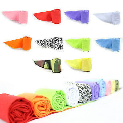 (Ice Cooling Neck Wrap Non-Toxic Scarf  Bandana Headband Necktie Wrist Band Cool)