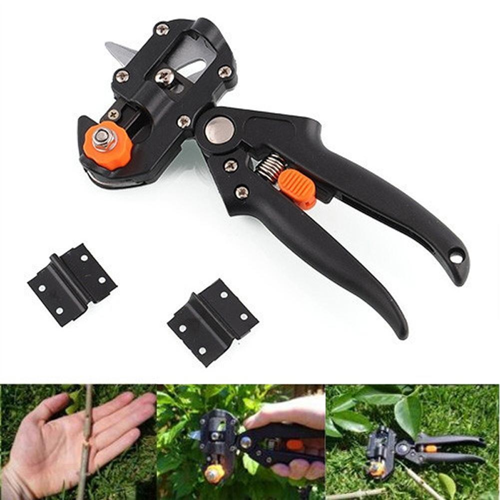 pro-garden-nursery-fruit-tree-pruning-shears-scissor-grafting-cutting-tool-black