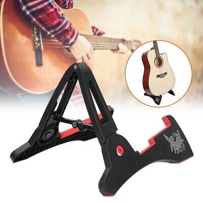 Portable Folding Electric A-Frame Guitar Stand Frame Holder Support Instrument