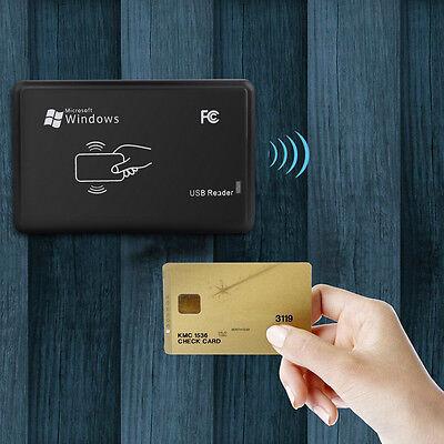 125KHz RFID/ID EM USB IC Card Reader Writer Copier Duplicator+5 Cards/Tags Kit