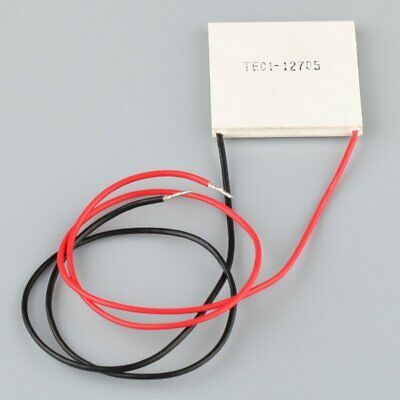 4040mm Thermoelectric Power Generator Heatsink Peltier Module Tec1 12v 60w