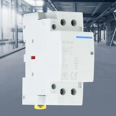 2p 40a Low Power Consumption Household Din Rail Ac Contactor 2no 5060hz 24vac