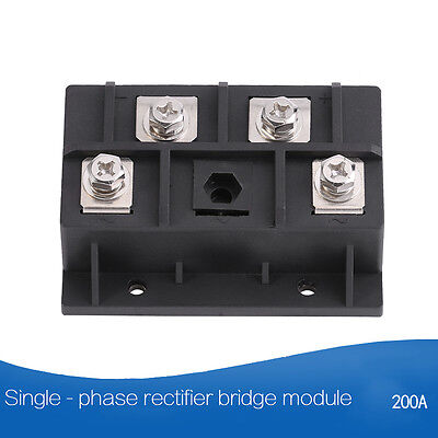 1600v Single-phase Diode Bridge Rectifier Power Module 60100150200300400a
