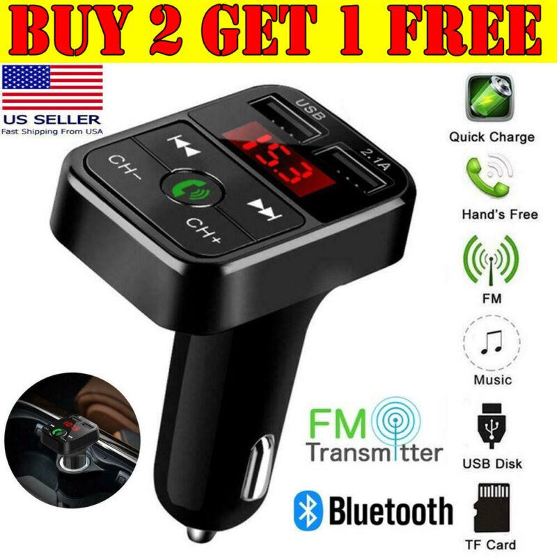 Wireless Bluetooth Car FM Transmitter MP3 Player Radio Adapt