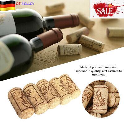 100 Stk.21mm*40mm Rotweinflasche Stopper Weinkorken Basteln Naturkorken