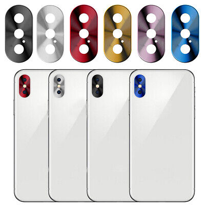 Metal Rear Camera Lens Case Cover Protector for iPhone X/XR/Xs/Xs Max US Stock